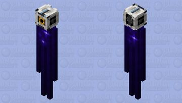 SPAAAAACE (Space Core) - Portal 2 Minecraft Mob Skin