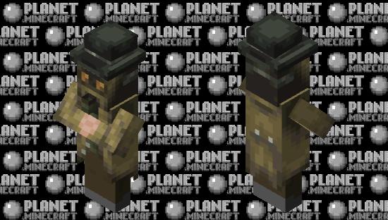 Gas poisoner Spy Minecraft Skin