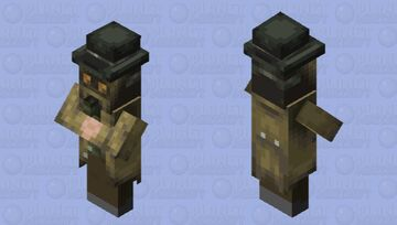 Gas poisoner Spy Minecraft Mob Skin