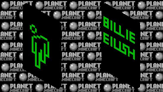 Billie Eilish Blohsh Minecraft Skin