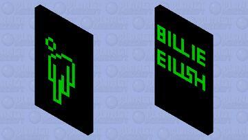 Billie Eilish Blohsh Minecraft Mob Skin