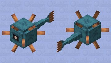 Ocean Prince Minecraft Mob Skin