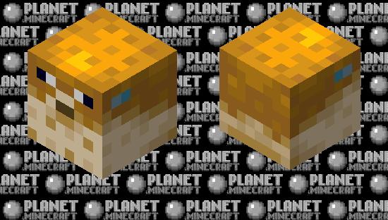 Ghast Pufferfish Minecraft Skin