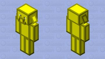 if you give me a diamond, i will not give you gravel when bartering Minecraft Mob Skin