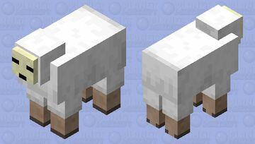Skelesheep Minecraft Mob Skin
