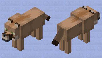 Cougar (Wolf) Minecraft Mob Skin
