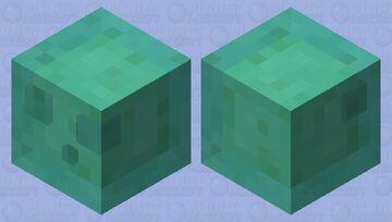 blue slime Minecraft Mob Skin