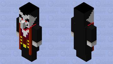 dracula Minecraft Mob Skin