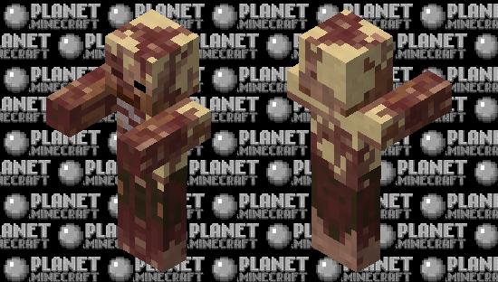 Realistic husk Minecraft Skin