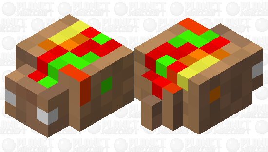 EATS ALIVE! (Taco) Minecraft Skin