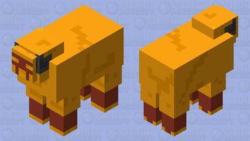 Magma sheep Minecraft Mob Skin