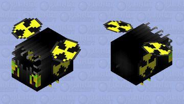 Mutated Toxic Waste Bee Minecraft Mob Skin