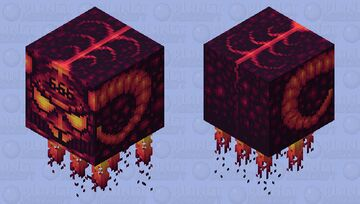 Necromuk's spaceship... Minecraft Mob Skin