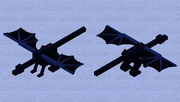 Blue EnderDragon Minecraft Mob Skin