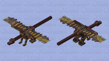 Bloodfall Dragon - Age of Dragons Minecraft Mob Skin Contest Minecraft Mob Skin