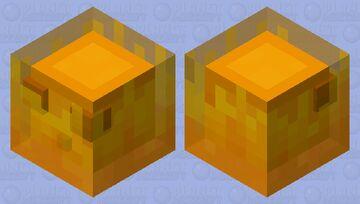 Fire Slime Minecraft Mob Skin