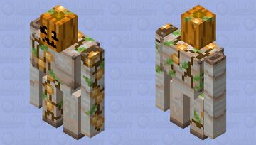 the true form of the iron golem (realistic/lower resolution) Minecraft Mob Skin