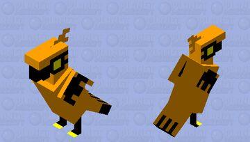 Galarian Zapdos Minecraft Mob Skin