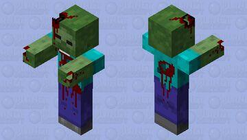 Death Zzombie Minecraft Mob Skin