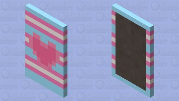 Pride Capes! #4 ~ Trans Pride Minecraft Mob Skin