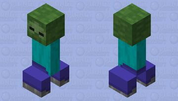 Cre- Oh. Wait- hoLD uP Minecraft Mob Skin