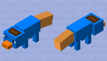 Perry The Platypus (Spy) Minecraft Mob Skin