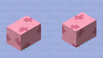 Jellyfish (Angry/Electric with Jelly) Minecraft Mob Skin