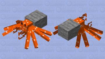 Stone Hermit Crab (No mouth parts) Minecraft Mob Skin