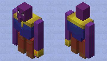 Thanos Minecraft Mob Skin