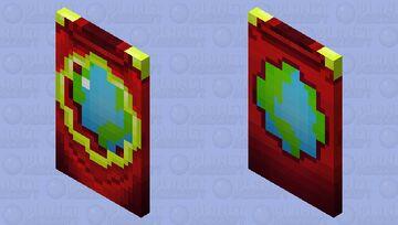 PMC cape HD (BETTER IN 3D) Minecraft Mob Skin