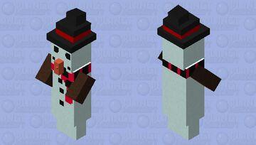 Snowman Witch Minecraft Mob Skin