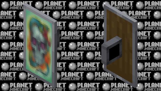 painted shield 1 Minecraft Skin