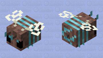 Soul Sand Vally Bee Minecraft Mob Skin