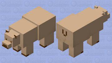 Teddy Bear Minecraft Mob Skin