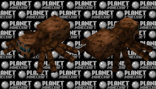 Modernized Classic Spider Minecraft Skin