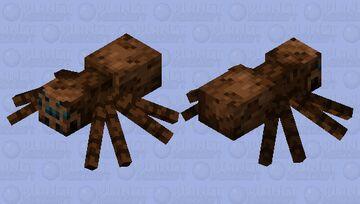 Modernized Classic Spider Minecraft Mob Skin