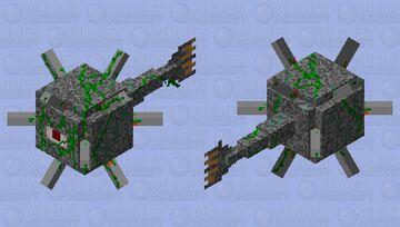 Sea Mine Guardian Minecraft Mob Skin