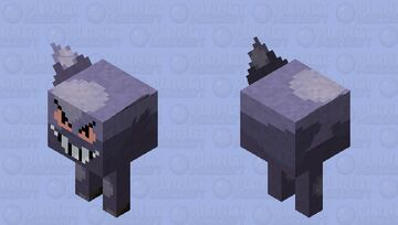 Gengar Minecraft Mob Skin