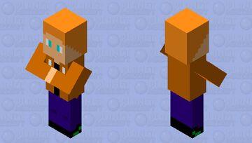 Big brain me Minecraft Mob Skin