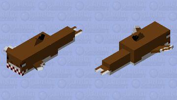 Blacktip reef (hungry shark world) Minecraft Mob Skin