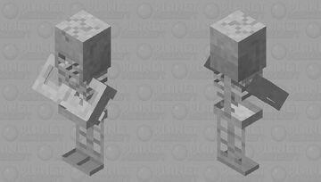 village skeleton Minecraft Mob Skin