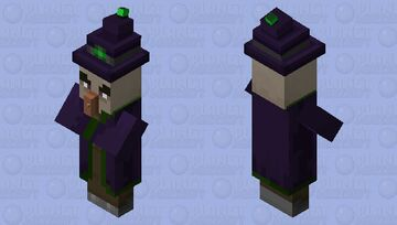 Witch (From my Upcoming Texture) Minecraft Mob Skin