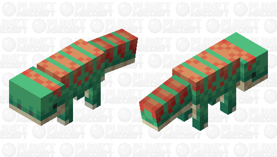 [Dino] Vulpesaurus Minecraft Skin