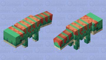 [Dino] Vulpesaurus Minecraft Mob Skin