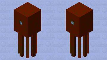 Baby Kraken Minecraft Mob Skin