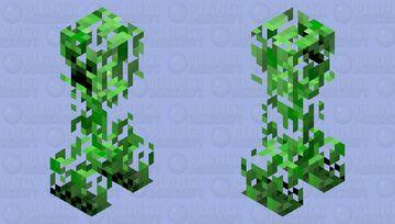 Leaf Creeper Minecraft Mob Skin