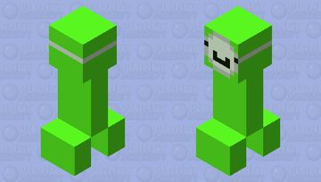 Dream Creeper Minecraft Mob Skin
