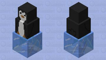 Penguin Buddy Minecraft Mob Skin