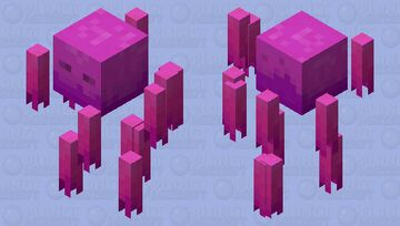 Flare. (Nether Contest.) Minecraft Mob Skin