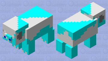 oinking IceMan Minecraft Mob Skin